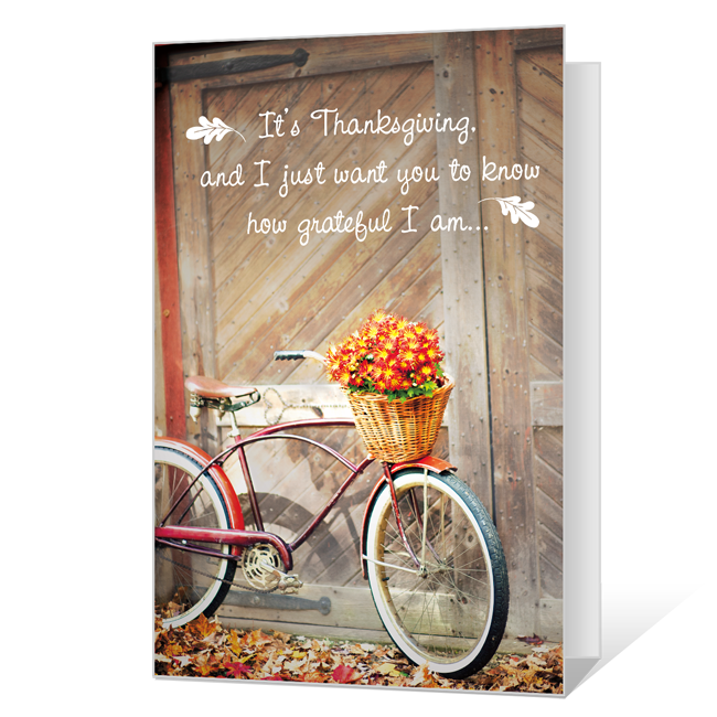 Grateful for You Printable Thanksgiving Cards