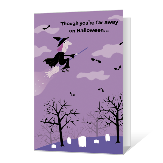 Across the Miles Halloween Cards