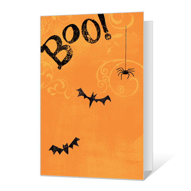 Creepy Evening Halloween Cards