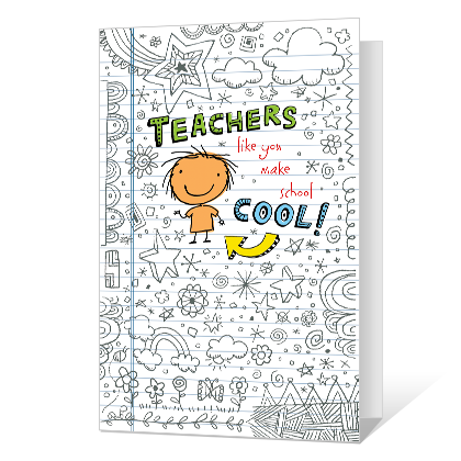 Great Teacher National Teacher Appreciation Week Cards