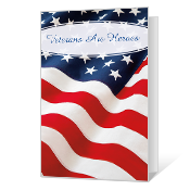 Veterans Are Heroes Veterans Day Cards