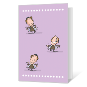 Victory Dance Printable Bat & Bar Mitzvah Cards