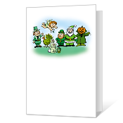 Everyone Is Irish St. Patrick's Day Cards