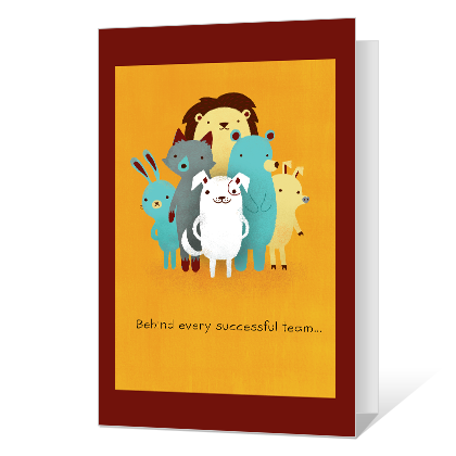 Somebody Great Administrative Professional's Day Cards