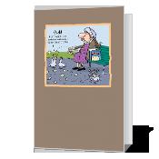 Matza Wishes greeting card