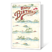 Time For You Printable Birthday Cards