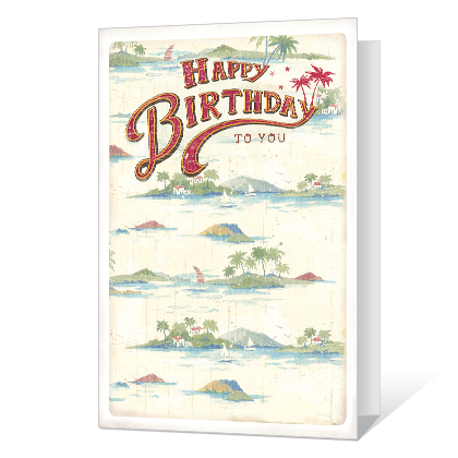 Time For You Printable Birthday Cards
