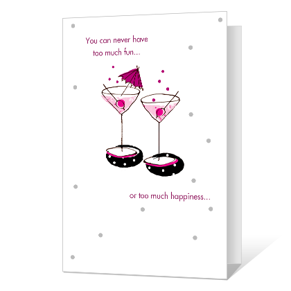 Cheers! Printable Birthday Cards