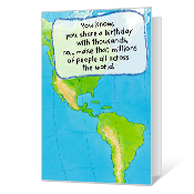 I Didn't Remember Printable Belated Birthday Cards