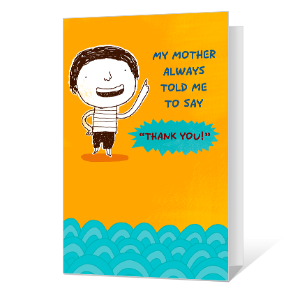 Saying Thank You Printable Thank You Cards