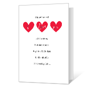 I Love You Printable Anniversary Cards