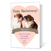 Being Together Printable Anniversary Cards