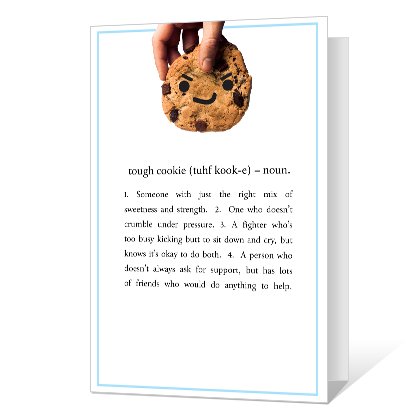 Tough Cookie Printable Encouragement Cards