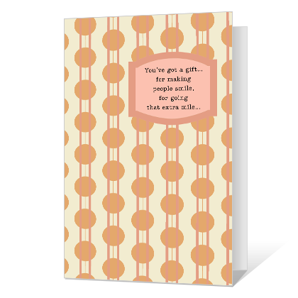 You Have a Gift Printable Friendship Cards