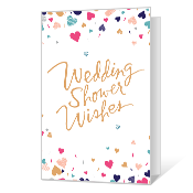 wedding shower wishes printable