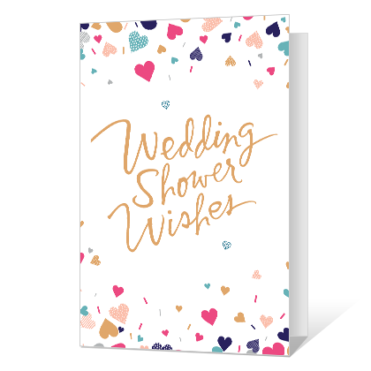 Wedding Shower Wishes Printable Wedding Cards
