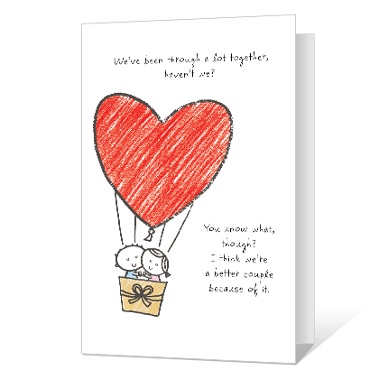 Happy Together Printable Dating & Love Cards