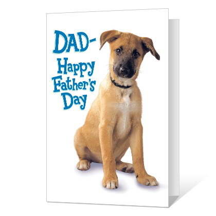 Pick of the Litter Printable Father's Day Cards