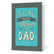 Love From Daughter Printable Father's Day Cards