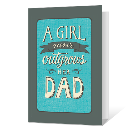 Love From Daughter Father's Day Cards