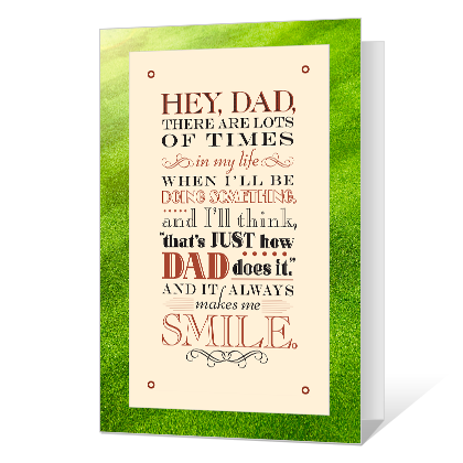 Proud I'm Your Son Father's Day Cards
