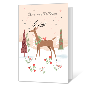 Christmas Is Magic Printable Christmas Cards