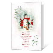Christmas in Our Hearts Printable Christmas Cards