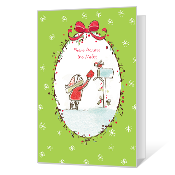 Across the Miles Printable Christmas Cards