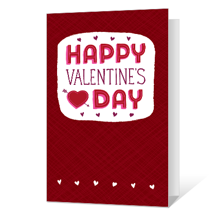 Hope It's Happy Printable Valentine's Day Cards