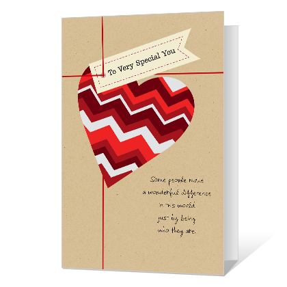You're Special Printable Valentine's Day Cards
