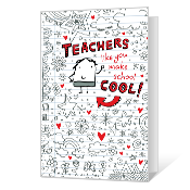 Cool Teacher Printable Valentine's Day Cards