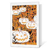 Happy Pumpkin Day Printable Halloween Cards