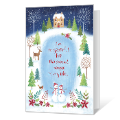 Grateful for You Printable Season's Greetings Cards