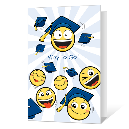 Way to Go, Grad Printable Graduation Cards