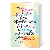 Future Dreams Printable Graduation Cards