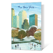 New Year Wishes Printable New Year's Day Cards