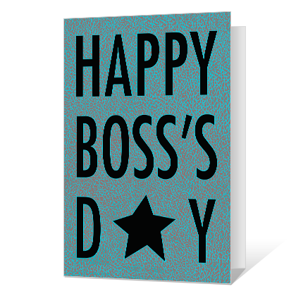 You Make the Difference Printable Boss's Day Cards