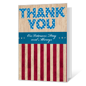 Thank You for Your Service Printable Veterans Day Cards