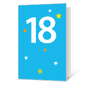 18th Birthday Printable Milestone Birthday Cards