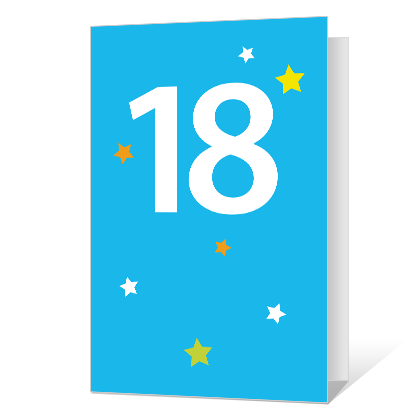 18th Birthday Printable Milestone Cards