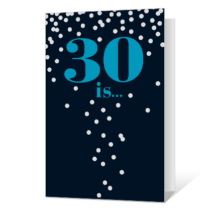 30th Birthday Printable Cards