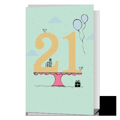 It's Your Day Milestone Birthday Cards