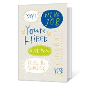 New Job Congrats Printable New Job Cards