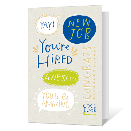 New Job Congrats Printable New Job Cards