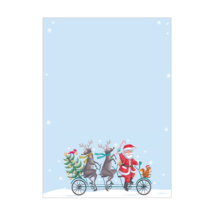 From the North Pole Stationery Printable Christmas Cards