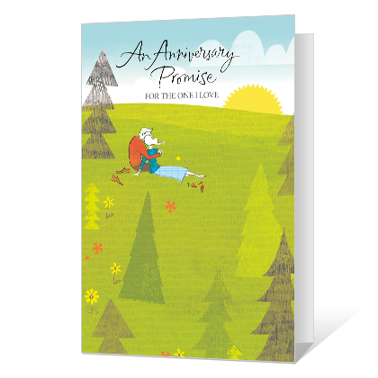 An Anniversary Promise Printable Anniversary Cards