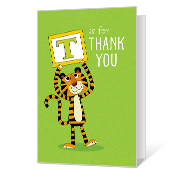 T is for Thank You Printable Thank You Cards