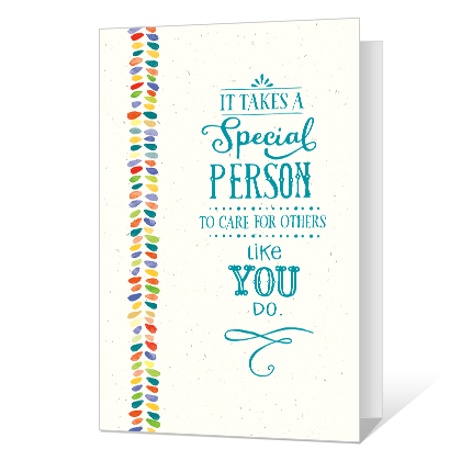 You Are Special Printable Thank You Cards