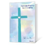 Blessings for A Special Boy Printable First Communion Cards