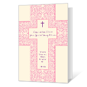 Confirmation for a Young Woman Printable Confirmation Cards